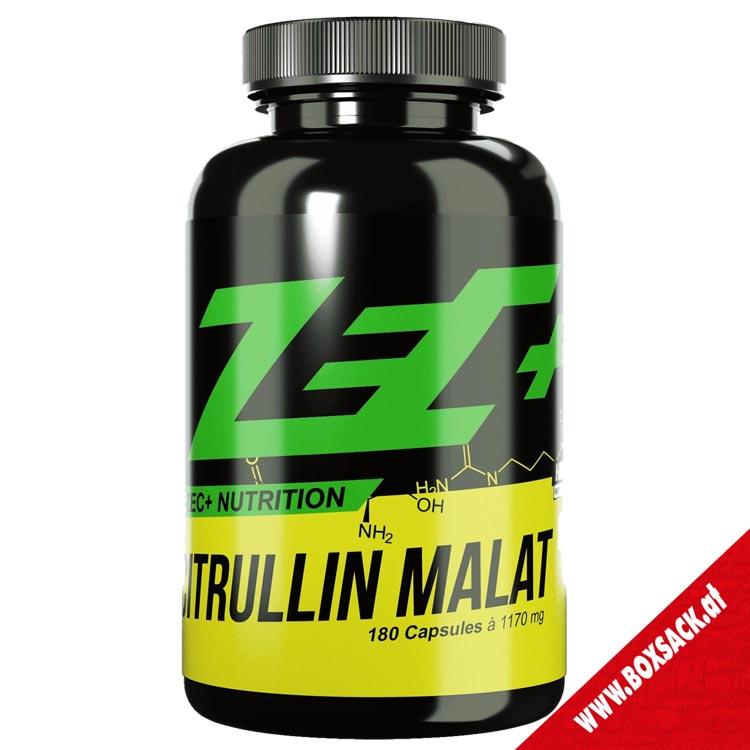 Zec Citrullin Malat Kapseln reines Citrullin Malat Aminosaeure 180 Kapseln