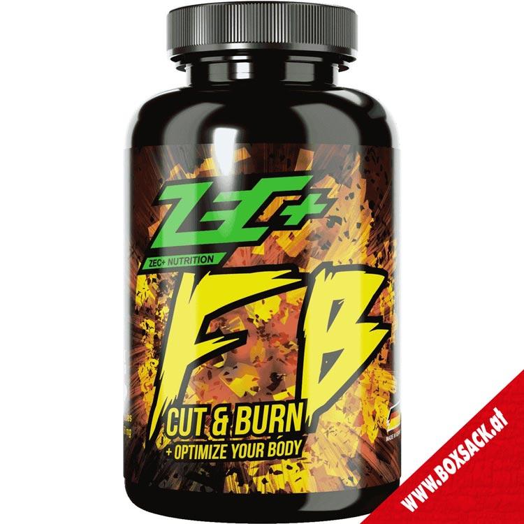 Zec Fettverbrennung Kapseln Fatburner fb Cut Burn 180 Stueck