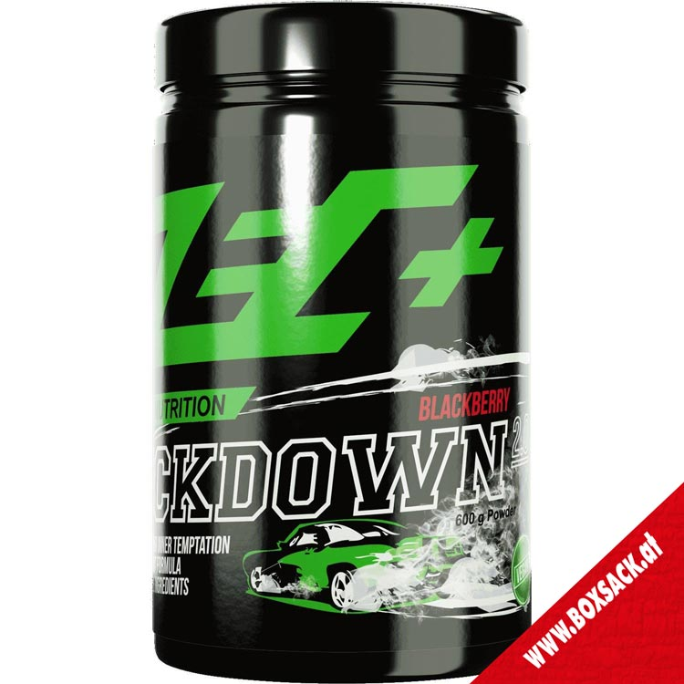 Zec Pre Workout Supplement Kickdown 20 Geschmack black berry