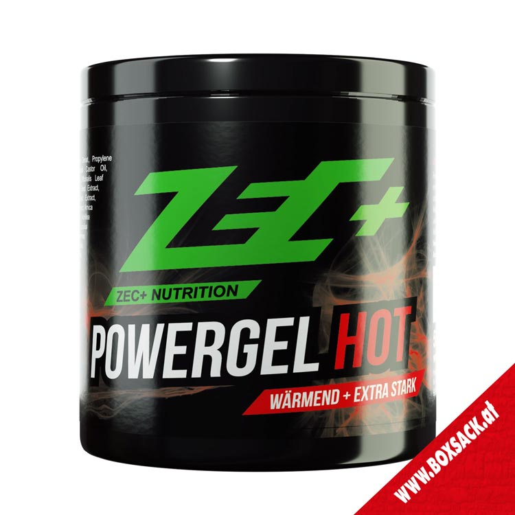 Zec Waermendes Sportgel Powergel Hot 500 ml