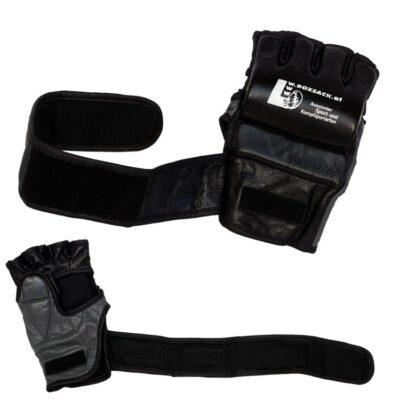 MMA Handschuhe Schwarz Grau in verschiedenen Größen Bild d