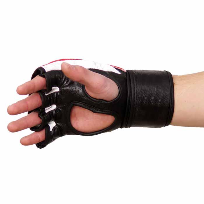 MMA Handschuhe Rot Schwarz in verschiedenen Größen Bild c