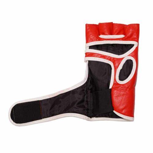MMA Handschuhe Schwarz Rot in verschiedenen Größen Bild f