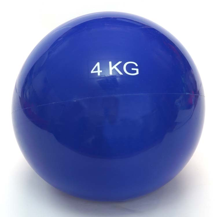 Gewichtsball Gymnastikball in verschiedenen Ausführungen und Farben erhältlich 4 Kg