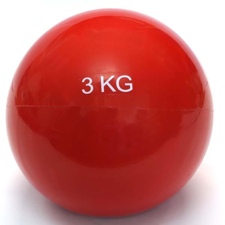 Gewichtsball Gymnastikball in verschiedenen Ausführungen und Farben erhältlich 3 Kg