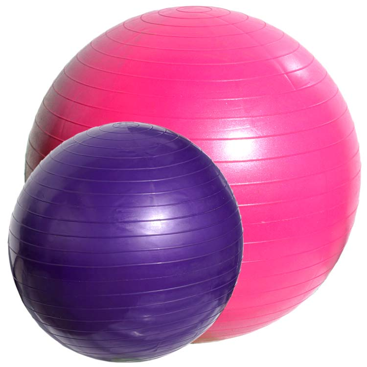 Gymnastikball Yoga Sitz Ball in verschiedenen Größen und Farben a