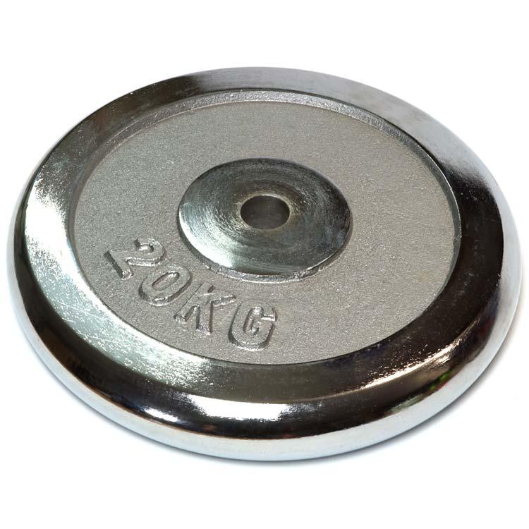 Hantelscheiben Gewichtsscheiben Crome Stahl Gewicht 20 Kg