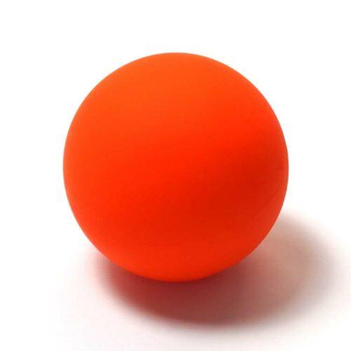 Massageball Massagekugel für Entspannung und Massage einfach in Orange