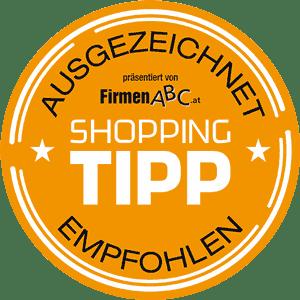 Auszeichnung Firmen ABC Boxsack Referenzen Shopping TIPP